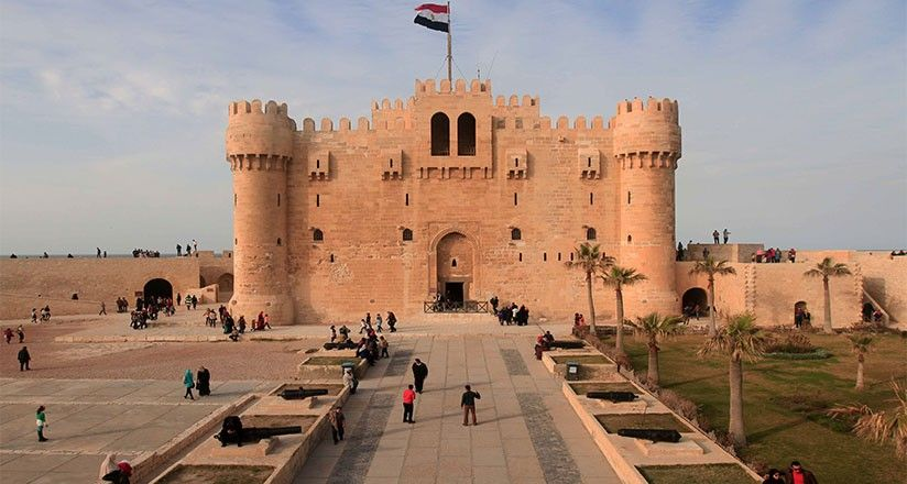 Citadel Of Qaitbay, 15th Century Defensive Fortress In Alexandria, Egypt |  Egypt, Egypt travel, Alexandria egypt
