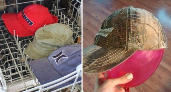 c2b70ba4880 Clean Baseball Hat Baking Soda Method Video Tutorial | That's clever ...
