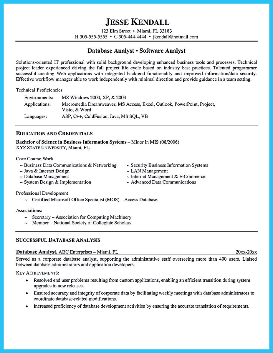 Business Intelligence Analyst Resume Adorable Cool High Quality Data Analyst Resume Sample From Professionals