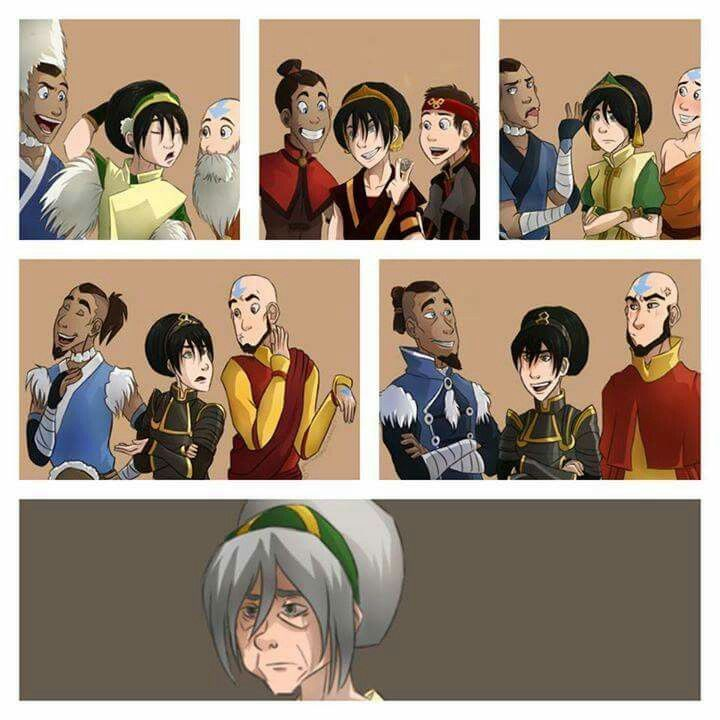 Avatar Fighting Game: Awww The Feels. #Toph #Sokka #Aang #TeamAvatar #ATLA #LOK