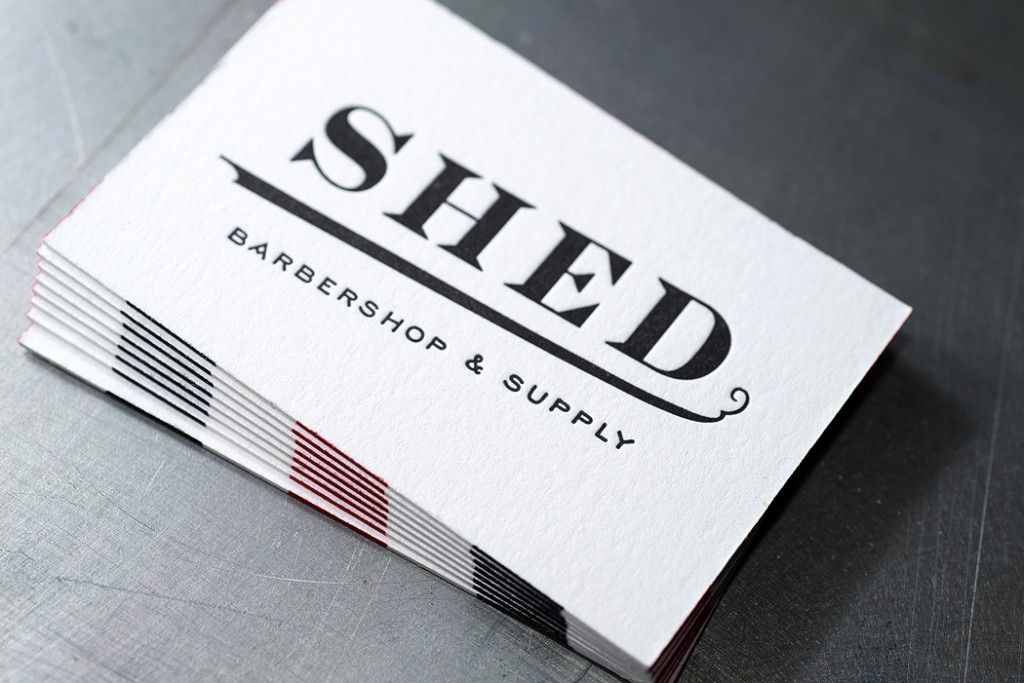 Shed barbershop letterpress business cards workhorse printmakers shed barbershop letterpress business cards workhorse printmakers houston colourmoves