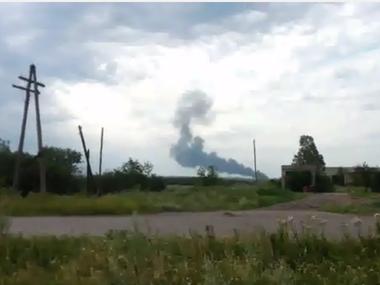 Боевики удаляют из соцсетей информацию о сбитом в Донецкой области самолете