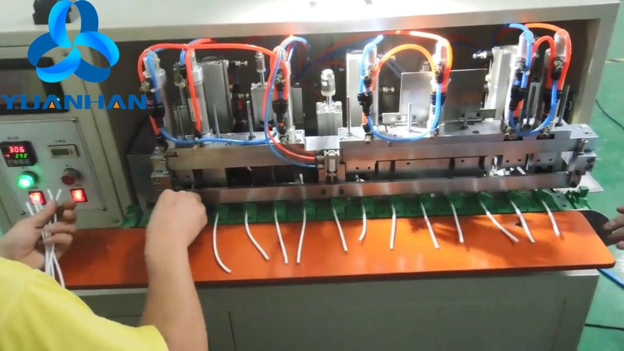 Cable Core Wires Stripping Twisting And Tinning Machine Yh Htz100 Stripping Wire Tin Machine