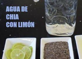 Chia Para Bajar De Peso Como Tomarla Y Los Beneficios Que Agua De Chia Para Adelgazar Agua De Limon Con Chia Chia Y Limon