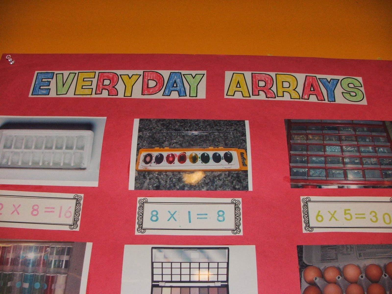Everyday Arrays Project With Free Title And Equation