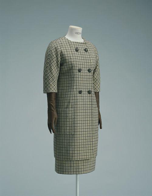 Day Dress    Cristobal Balenciaga, 1958