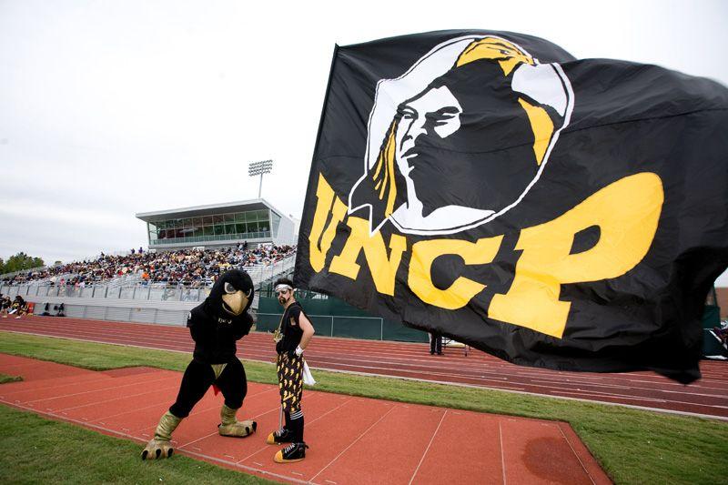 UNCP mascot old mascot. Unc pembroke