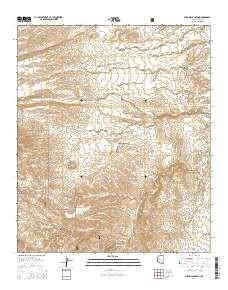 Buehman Canyon AZ topo map, 1:24000 scale, 7.5 X 7.5 Minute, Current ...