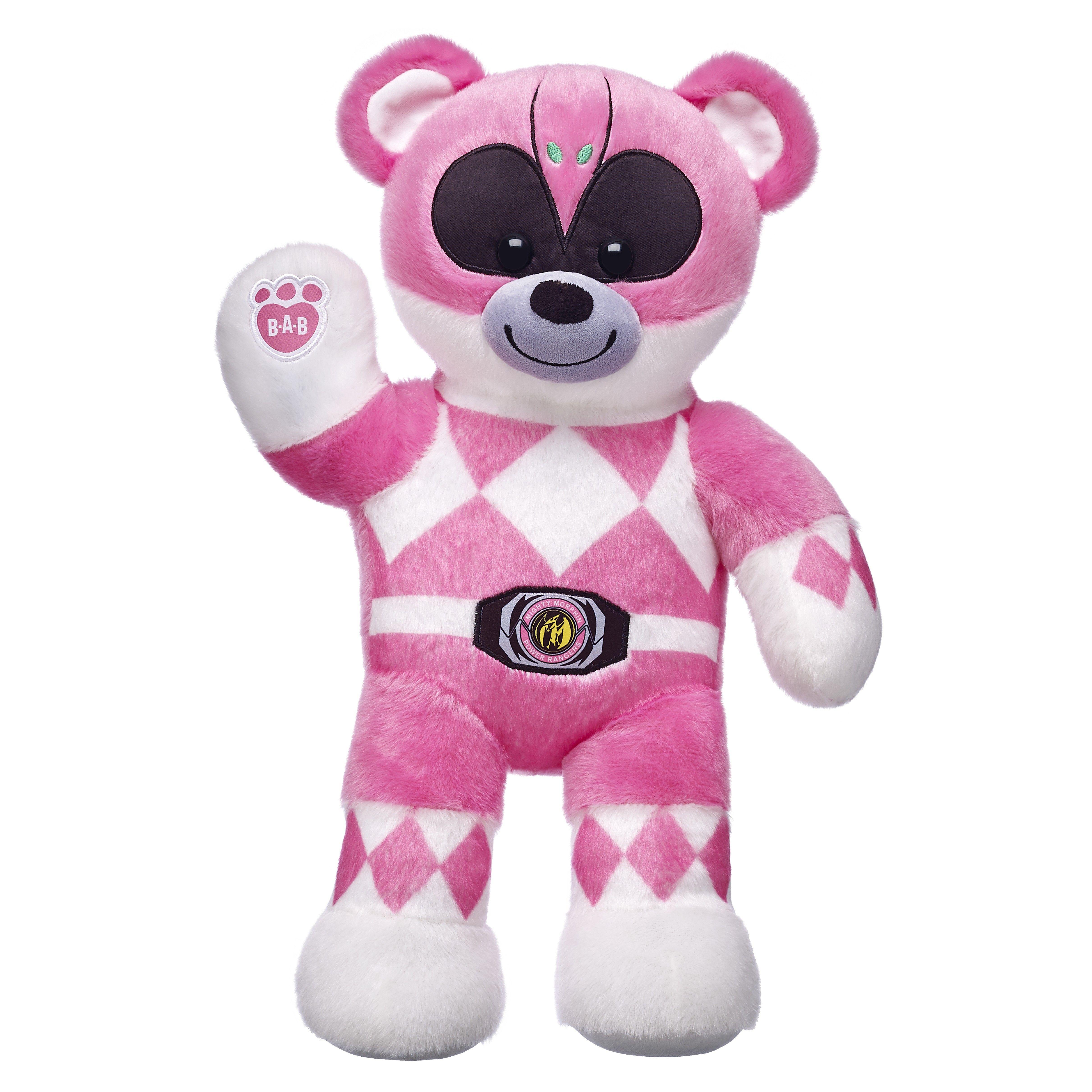 fcc811250 PINK POWER RANGER BEAR   Power Rangers/ Super Sentai   Pink power ...