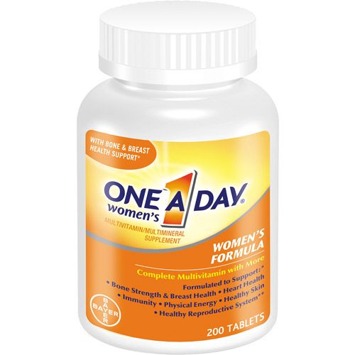 One A Day Multivitamins For Women Women S Multivitamin Tablets 200 Ct Walmart Com One A Day Vitamins Multivitamin Vitamins For Women