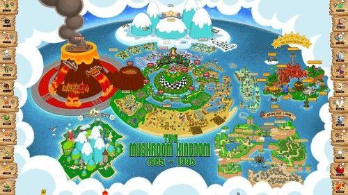 Mushroom kingdom map world game video mario super mario world mushroom kingdom map world game video mario super mario world gumiabroncs Image collections