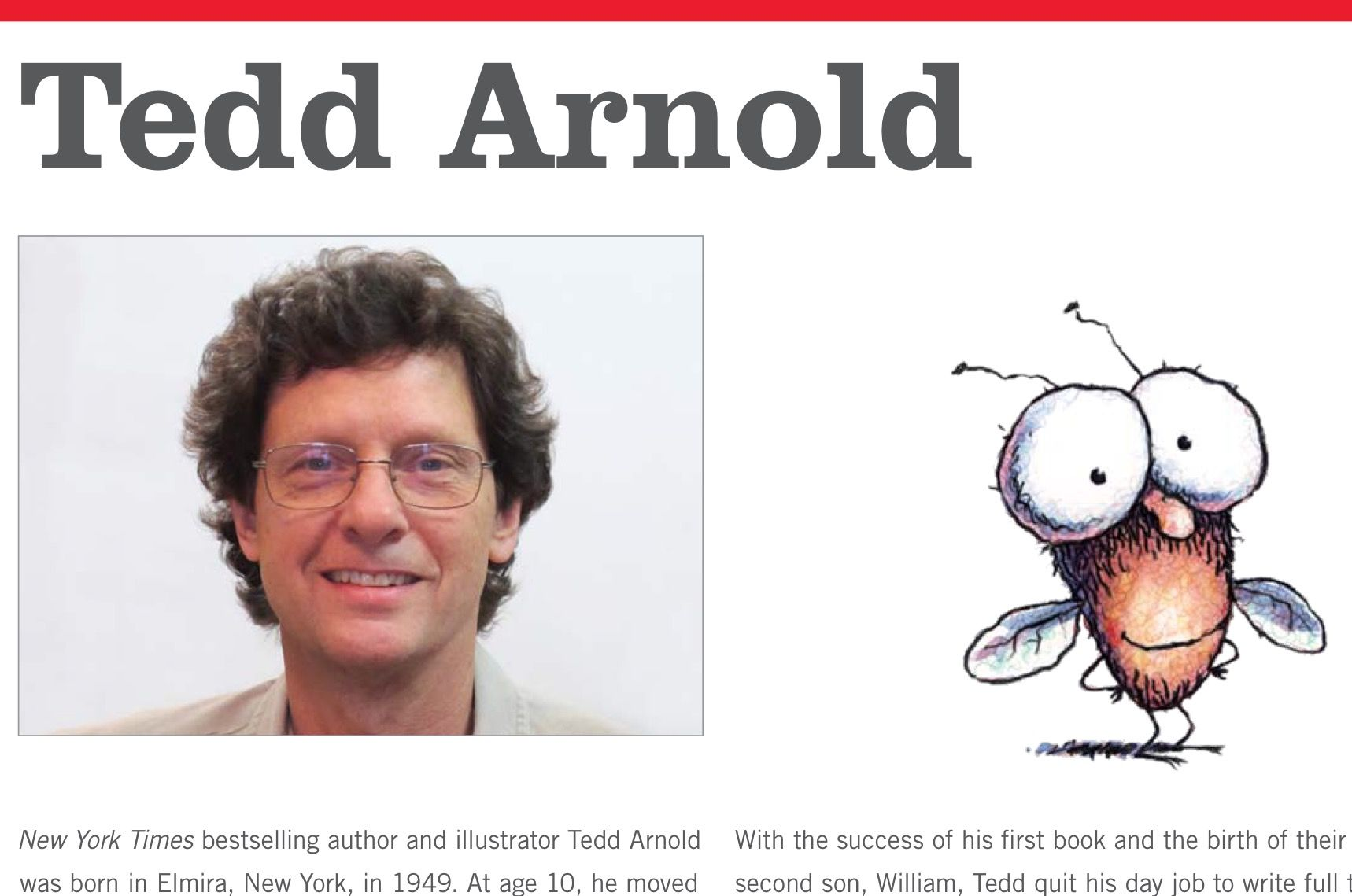 Information About Author Tedd Arnold Great Info For