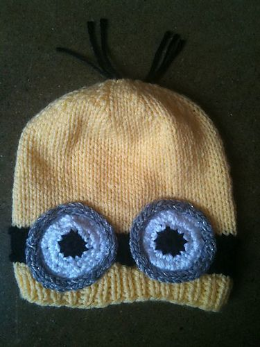 Ravelry: Minion Hat pattern by Maura Houston, free | Crochet and ...