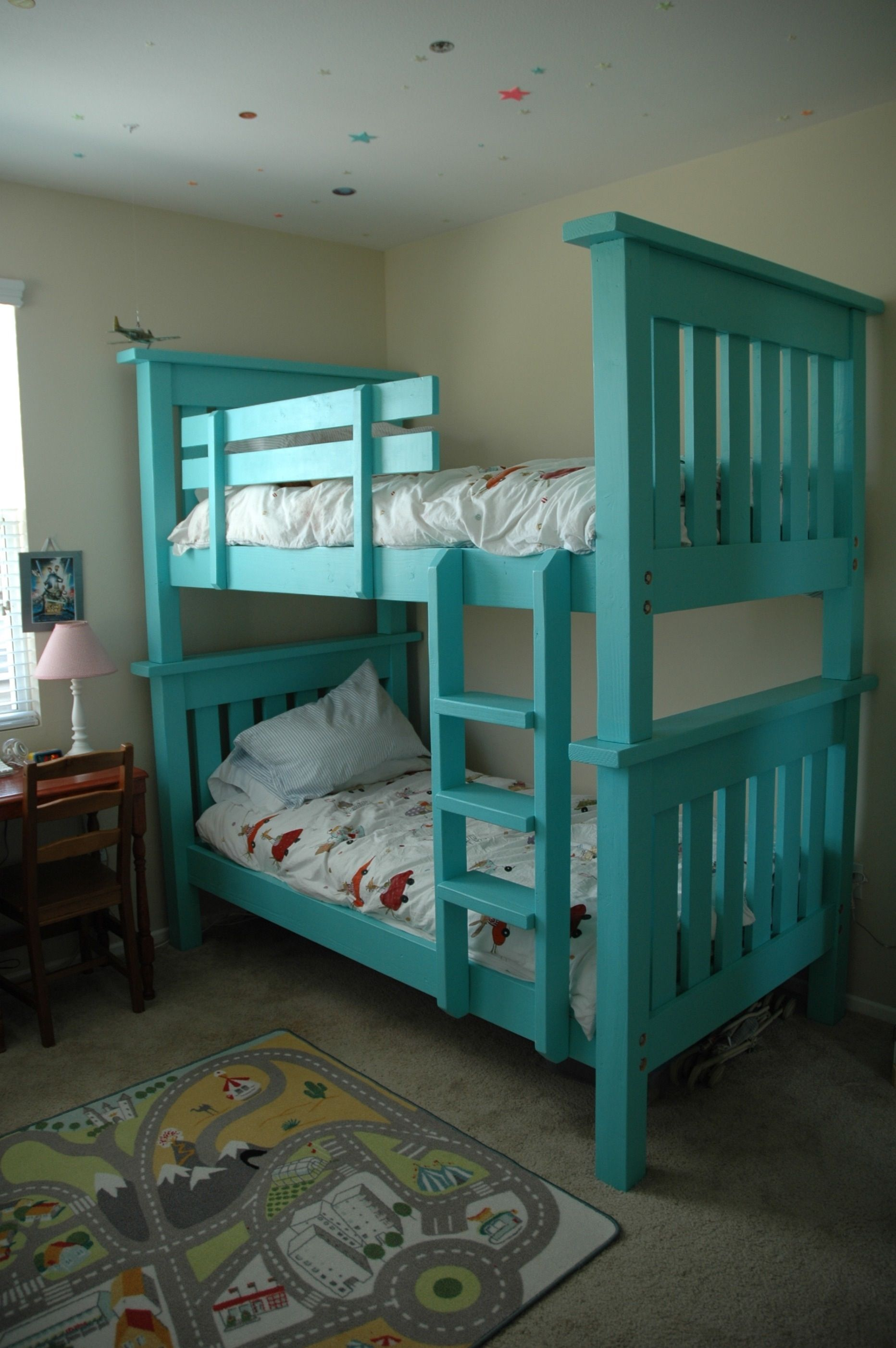 Bunk Bed From Simple Bed Modified Do It Yourself Home