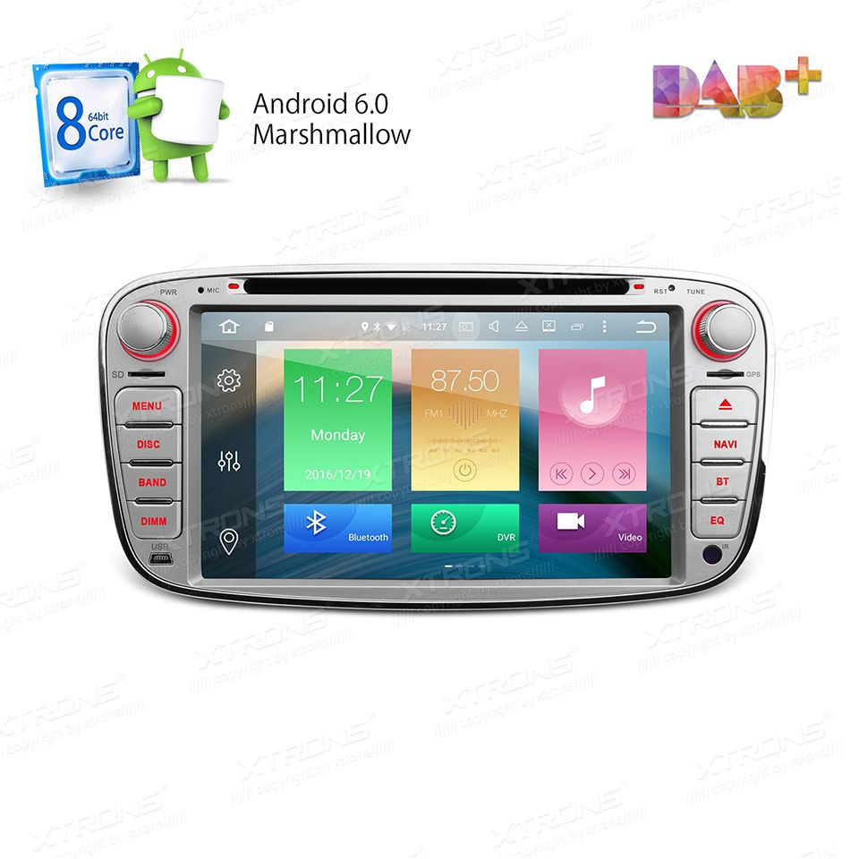 Octa Core Android 6 Car Radio 32g Rom 2g Ram Gps For Ford