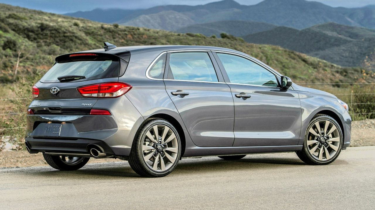 2018 Hyundai Elantra GT Improved Ride Handling and