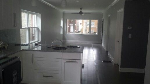Berwn Bungalow Rehab Fully Gutted And Renovated Open Floor Plan Home