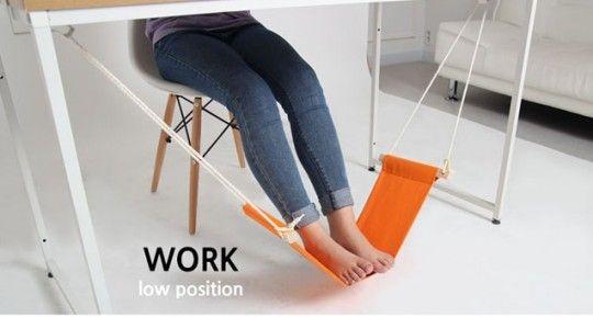 Fuut hamac pour reposer vos pieds au bureau meubles