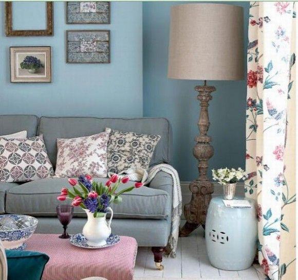 Abbinamento colore blu carta da zucchero arredo e pareti for Carta d arredo