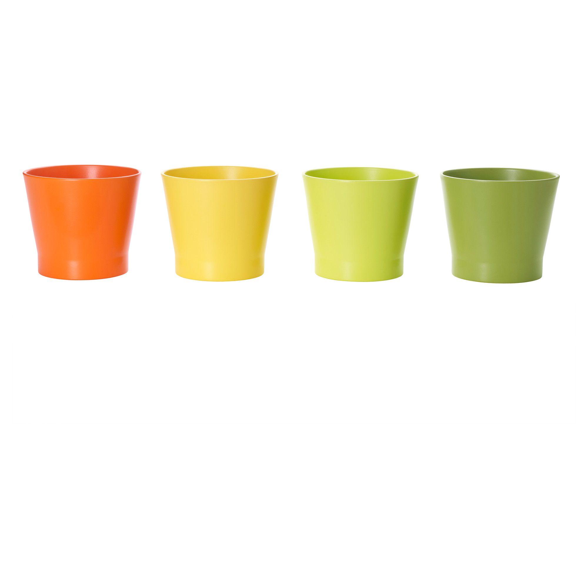 papaja cache pot 12 cm ikea en jaune pour la sdb 2. Black Bedroom Furniture Sets. Home Design Ideas