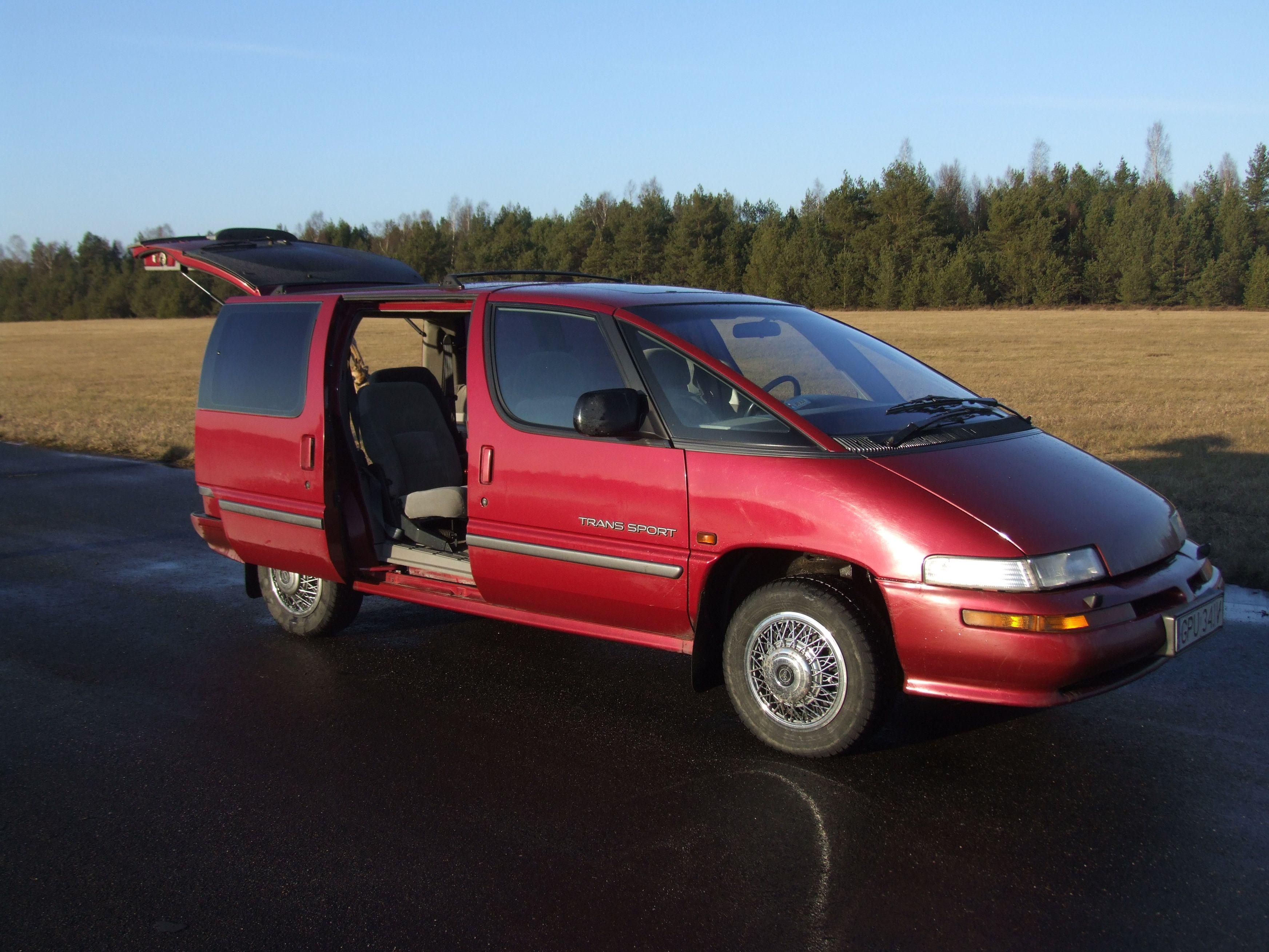 Pontiac Trans Sport Coches Estados Unidos Disenos De Unas
