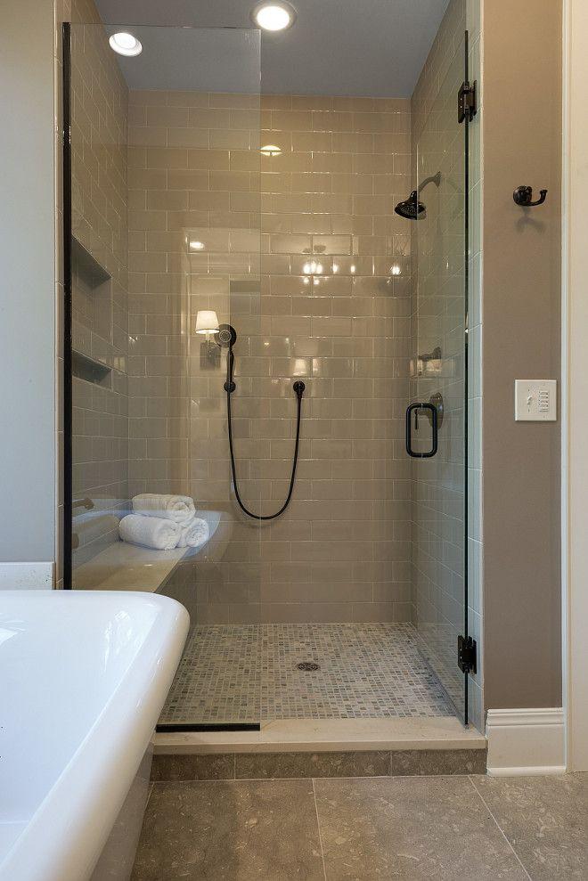 Putty Color Tile. Neutral Shower Tile Dal Tile Modern Dimensions ...