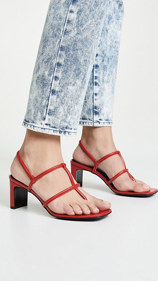 1ab786719 Dorateymur Thong Heeled Sandals