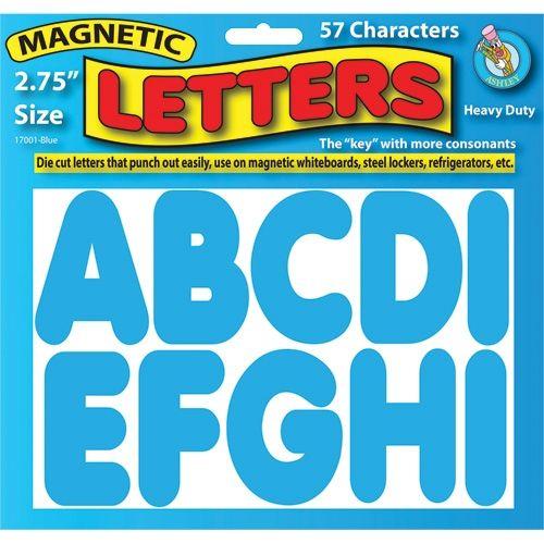 2 3 X2f 4 Quot Magnetic Letters Blue Ash17001 Magnetic Letters Classroom Essential Letters