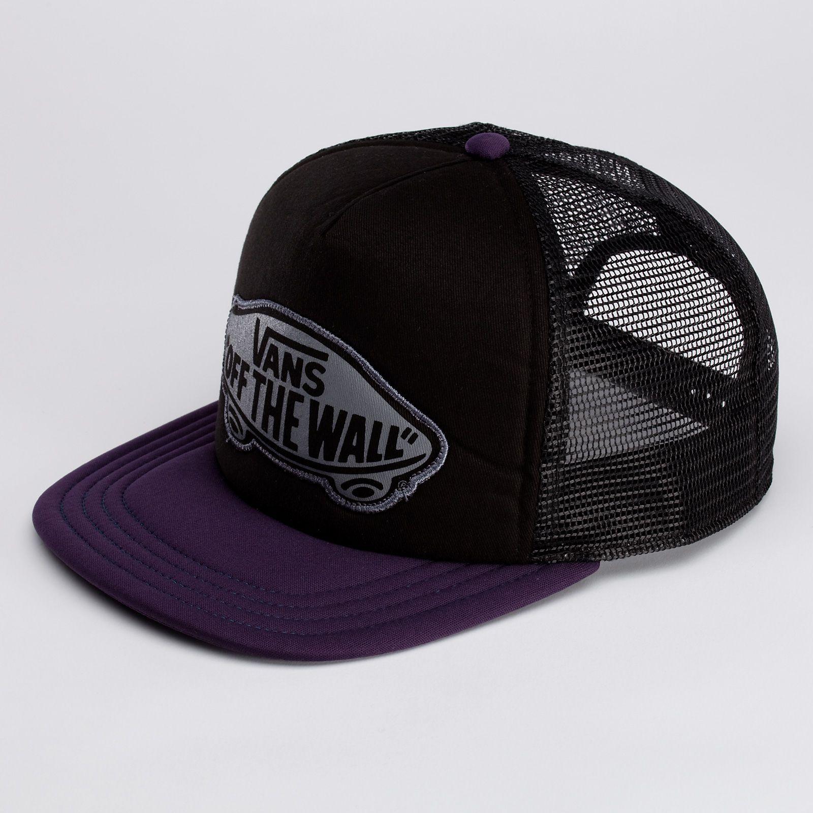 1ae426d53f Vans Labor Trucker Snapback Hat (Black)  19.95