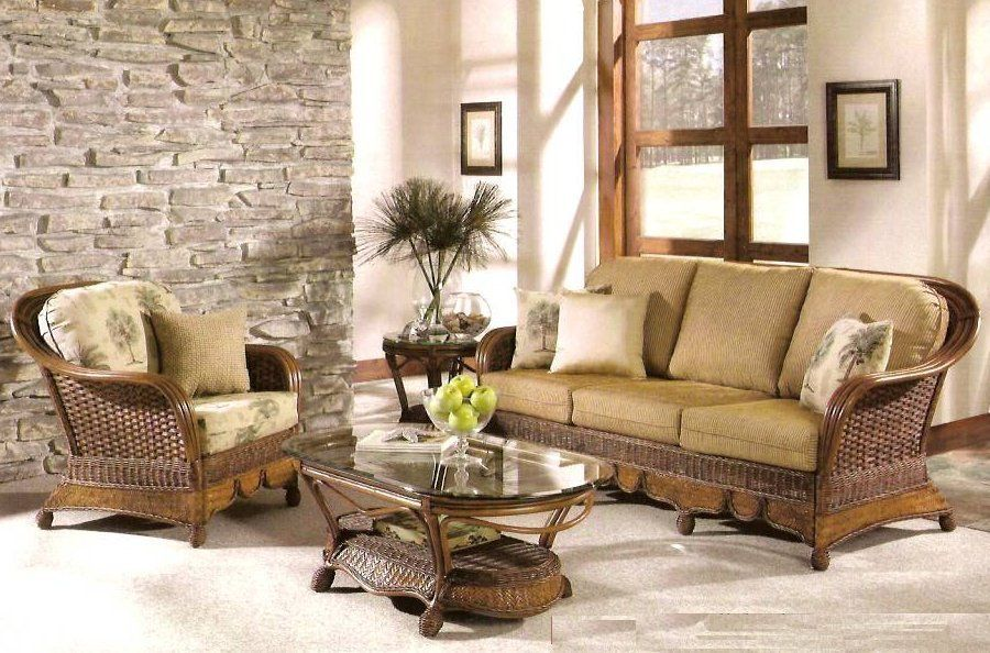 352000 Moroccan Rattan And Wicker Living Room With Images