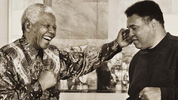 """""""He made us realize, we are our brother's keeper and that our brothers come in all colors.""""  Muhammad Ali."""