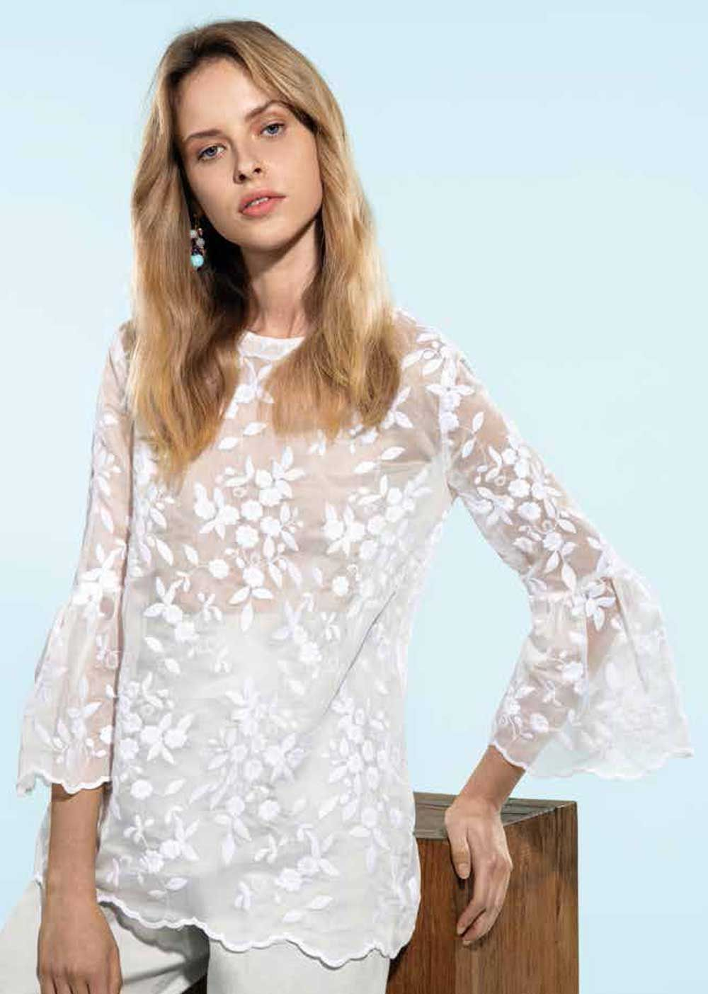 check-out df1b4 149ee Pin su Blusas blancas
