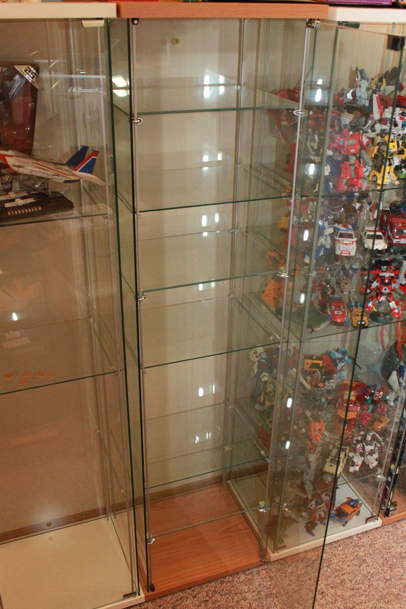 Ikea detolf modification adding additional shelves optimusfan 40048 albums detolf shelves - Vitrina detolf ...