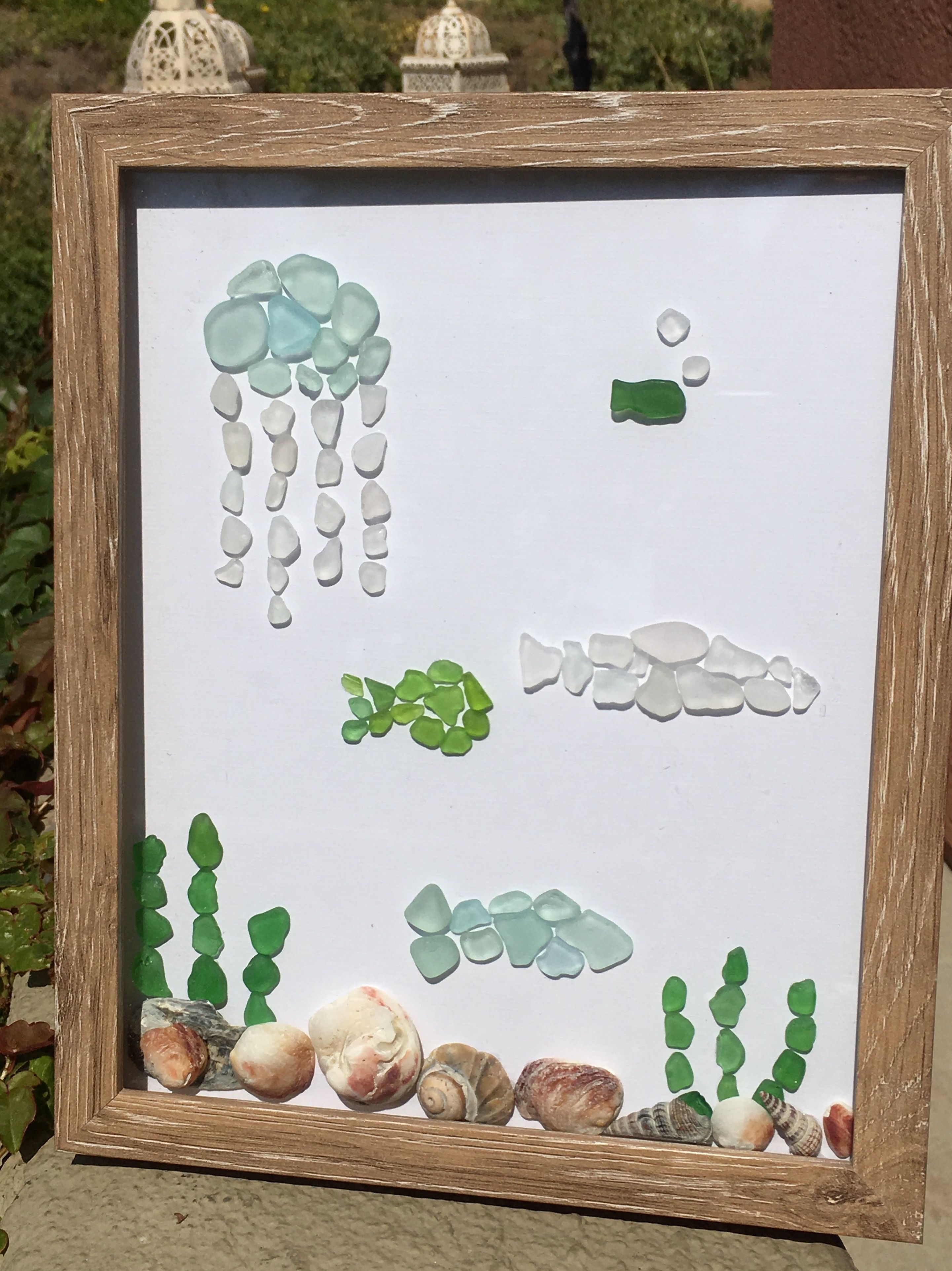 pin by karina on decor ideas | pinterest | sea glass, sea glass art
