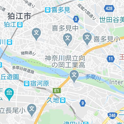 二子新地〜二子玉川、ぐるり10kmラン ランニングコース丨ラントリップ/Runtrip
