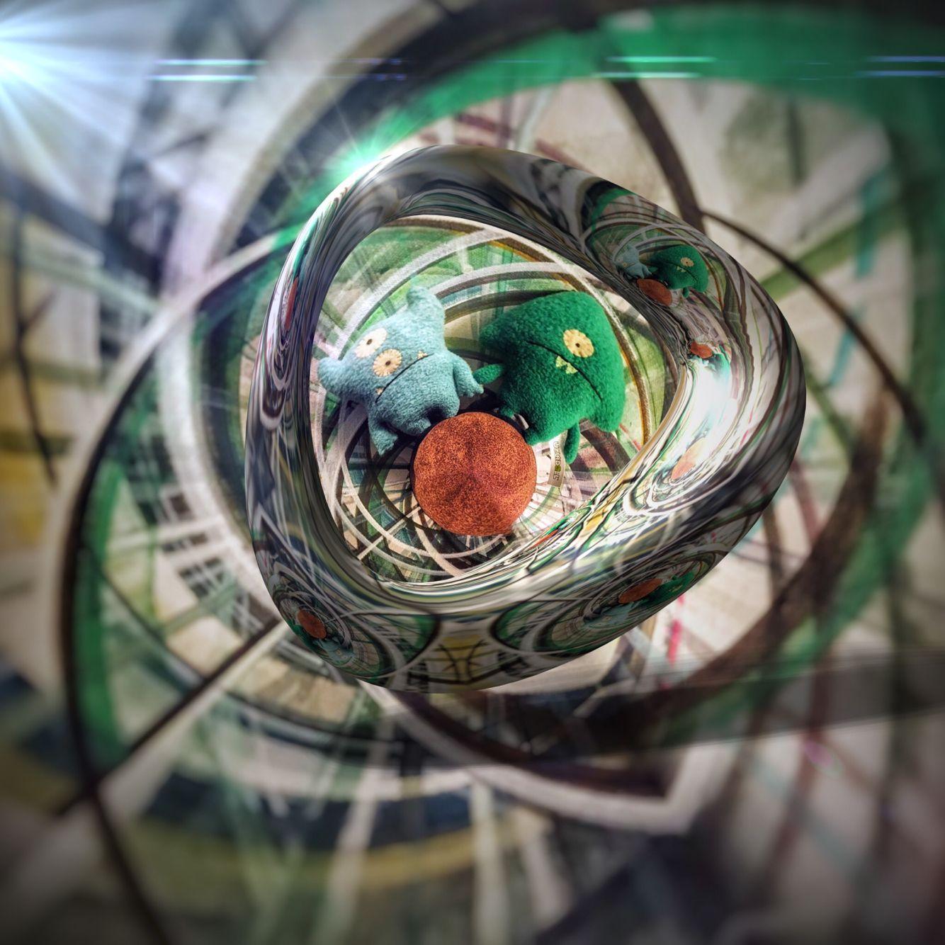 #Circular_app #LensFlare