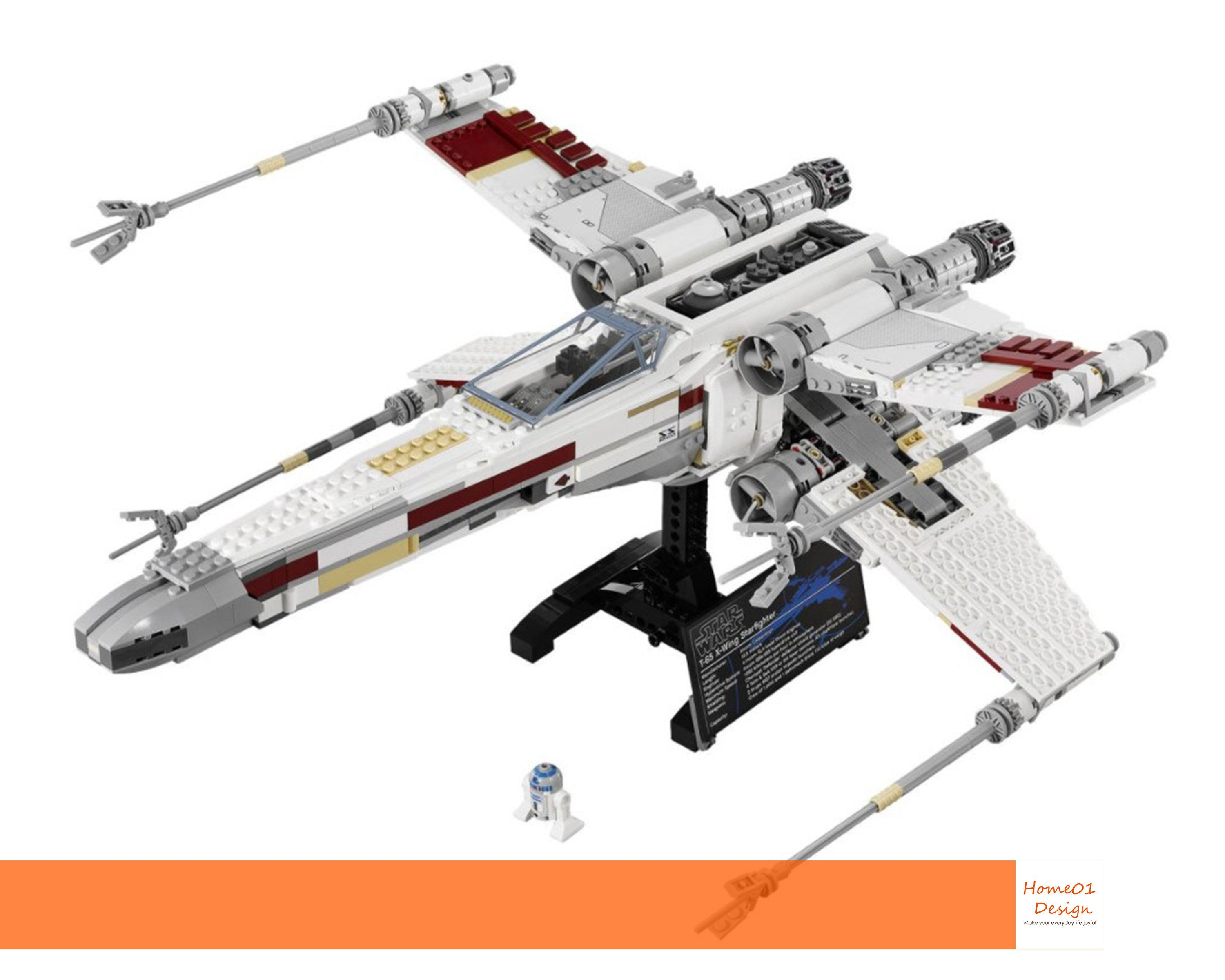 Red Five X Wing Starfighter 10240 Moc Brick Set Star Wars Compatible With Lego Boys Christmas Gifts Diy Diy Educational Toys Christmas Gifts For Boys