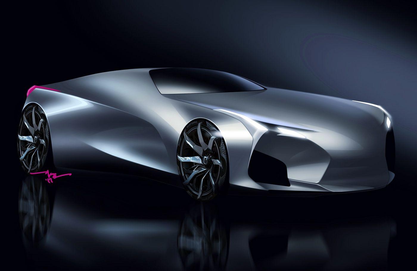 Lexus Concept Car: Lexus Concept Sketch On Behance