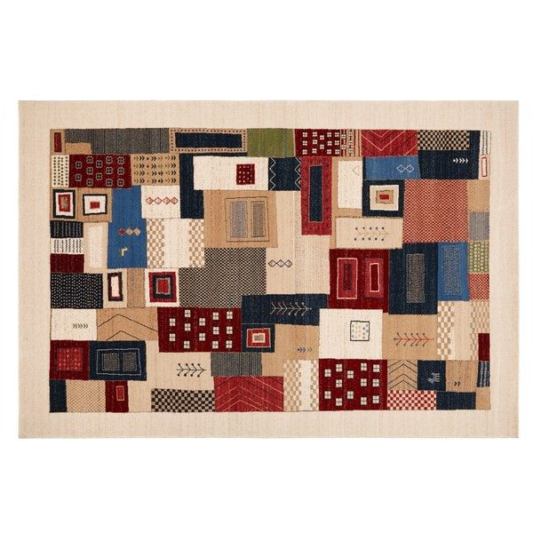 Royal Heritage Kazak Patchwork Rug Liked On Polyvore Featuring Home Rugs