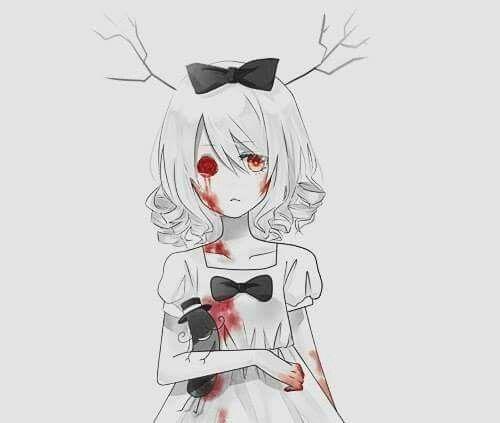 Your C R E E P Y P A S T A Life Anime Art Dark Dark Anime Anime