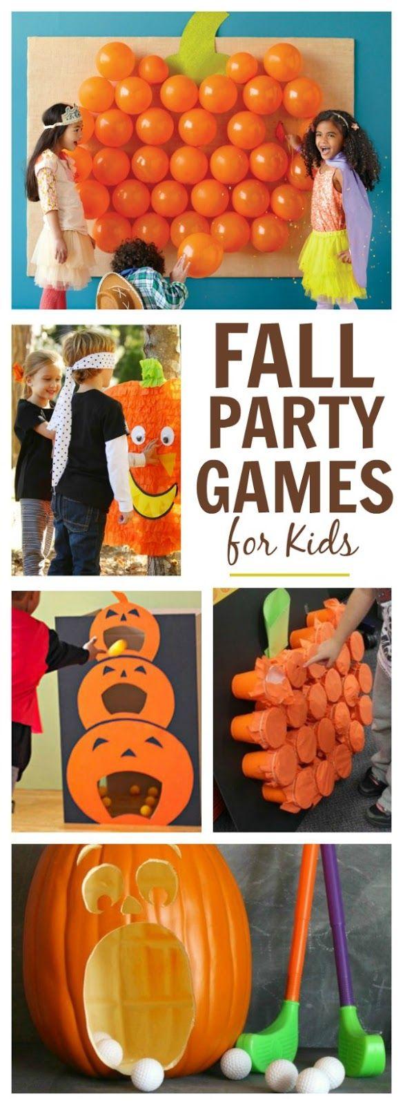Pumpkin Activities for Kids Fall birthday parties