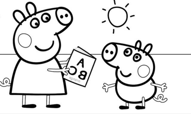 Dibujos Para Colorear E Imprimir Dibujos Infantiles Para Colorear Y Pintar Peppa Pig Para Colorear Dibujo De Peppa Pig Peppa Pig Para Imprimir