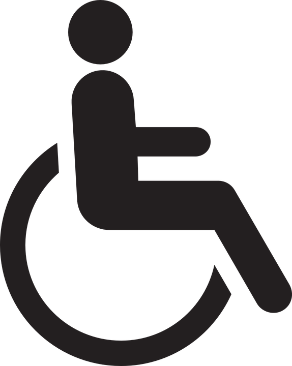 Free Image On Pixabay Handicapped Chair Wheelchair Wheelchair Handicap Chairs Logo