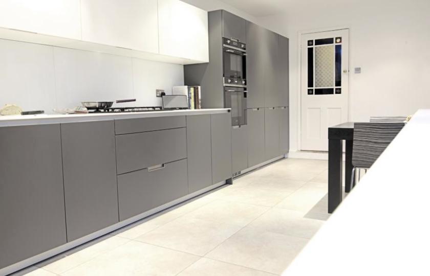 SANTOS kitchen   Diseño de cocina Minos gris antracita   Cocinas en ...