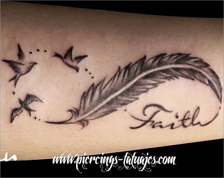 Tatuajes Infinito Con Pluma tatuajes-infinito-pluma (750×596) | tatuagens | pinterest