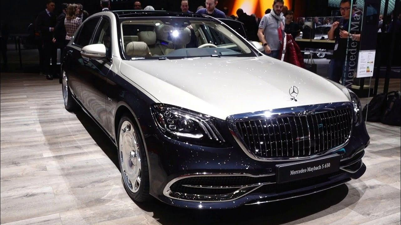 2019 Mercedes Maybach S650 New Luxury Exterior Design With Images