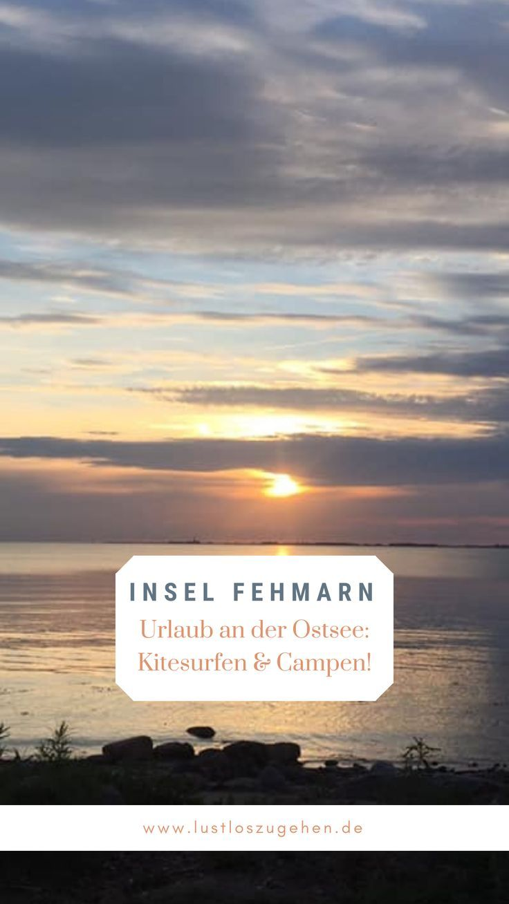 Photo of Kitesurfen und Camping auf Fehmarn   Reiseziele, Kitesurfen und Ostsee urlaub