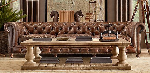 Restoration Hardware I Would Decorate Both My Indoor And Outdoor Living Es Entirely With