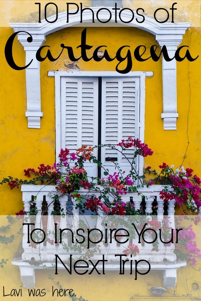 10 Photos of Cartagena to Inspire Your Next Trip | Not sure where to book your next trip? These photos of Cartagena just might bump it up to the top of your list! | Lavi was here.
