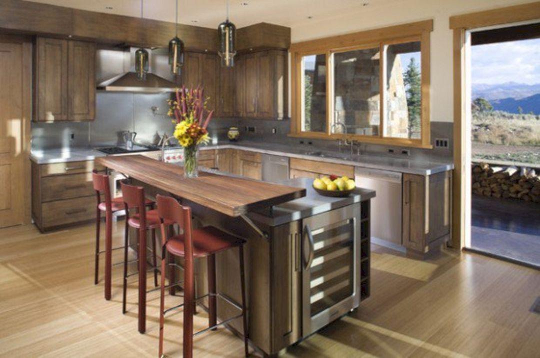 60 Awesome Kitchen Countertop Bar Designs Ideas For Your Elegant Kitchen Freshouz Com Contemporary Kitchen Counters Contemporary Kitchen Kitchen Counter Decor